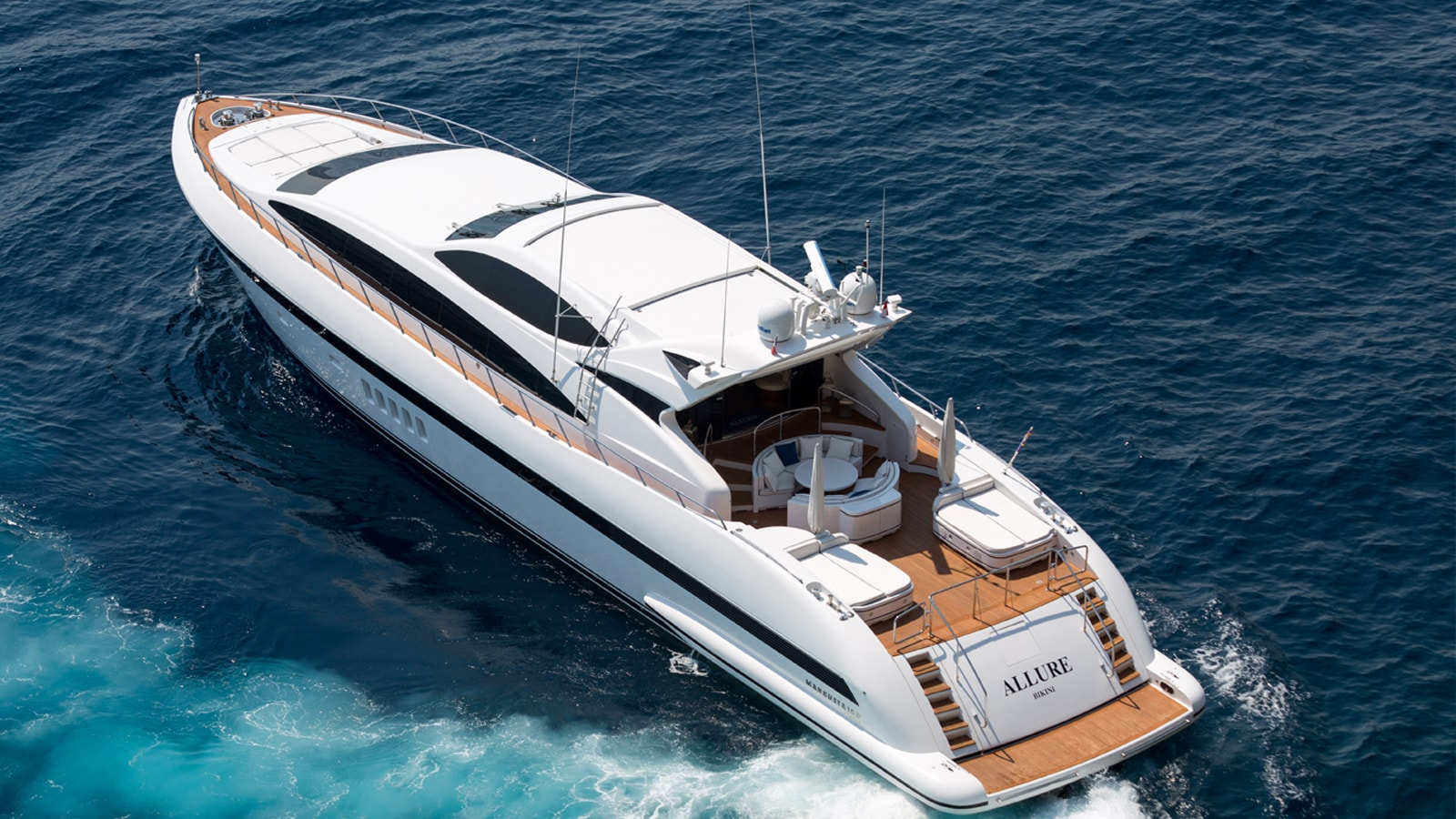 Superyacht Allure for Charter