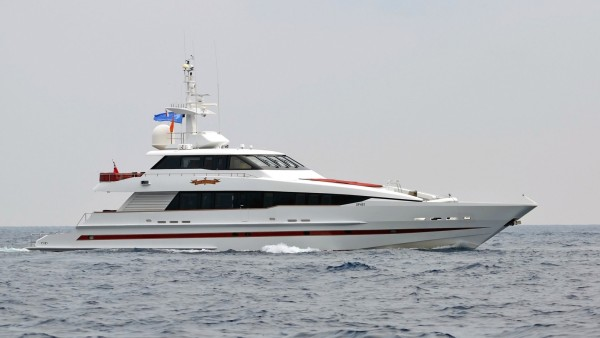 RedSapphire Superyacht for Sale