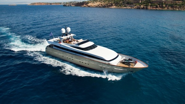 Luxury Yacht Ithaki for Charter