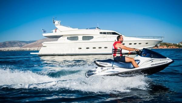 Dilias Yacht Jet Ski watersports