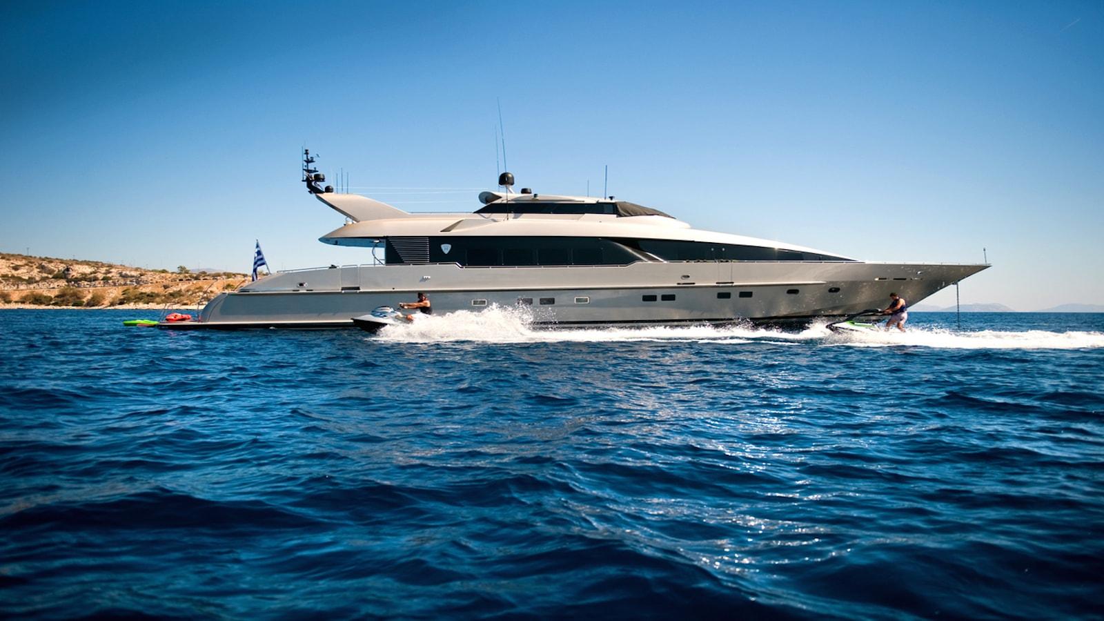 PANDION Superyacht Charter