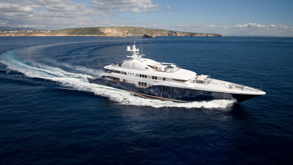 Sycara V Superyacht for Charter