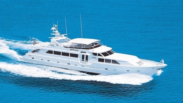 Insatiable Broward Yachts Superyacht for Sale