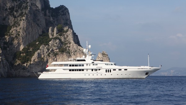 Yacht Apogee for Charter