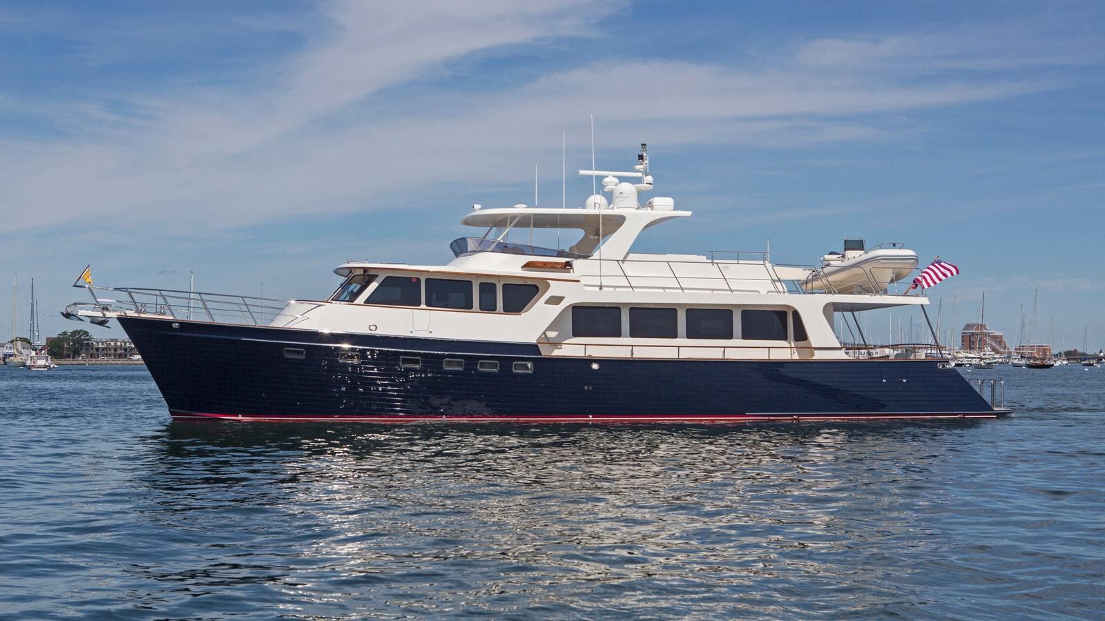 Yacht MissGinny sold