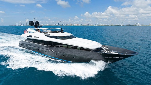 temptation palmer johnson yacht for sale running photo