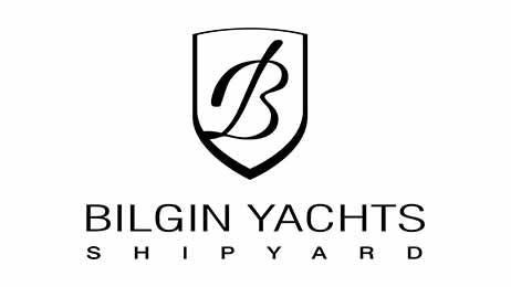bilgin yachts shipyard builder logo design