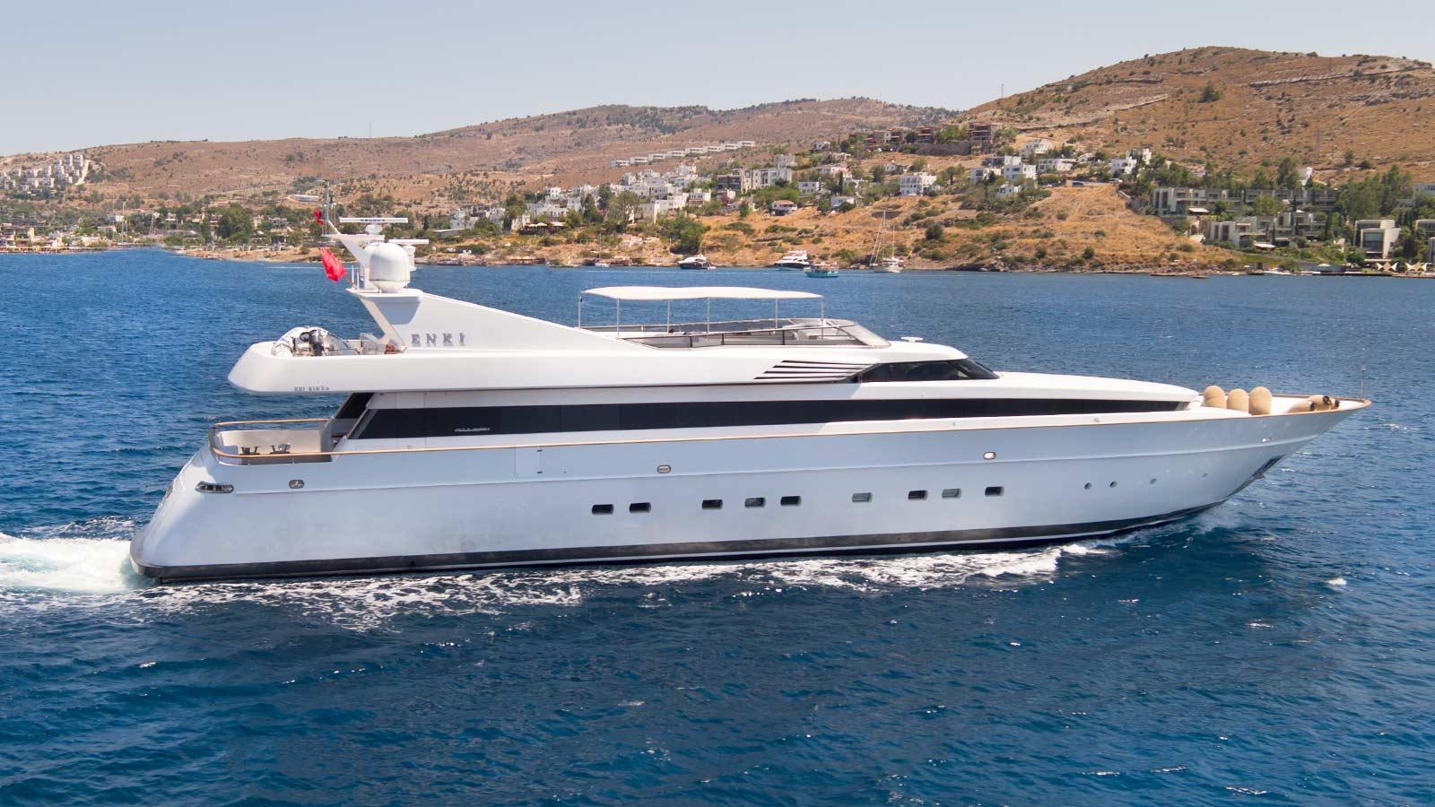 Garage Length Enki Luxury Yacht For Sale