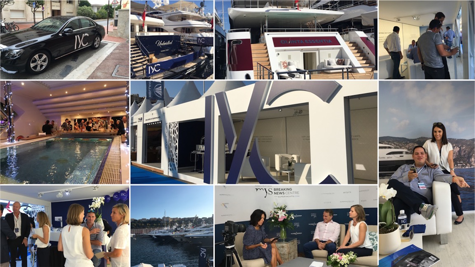 IYC at Monaco Yacht Show 2016
