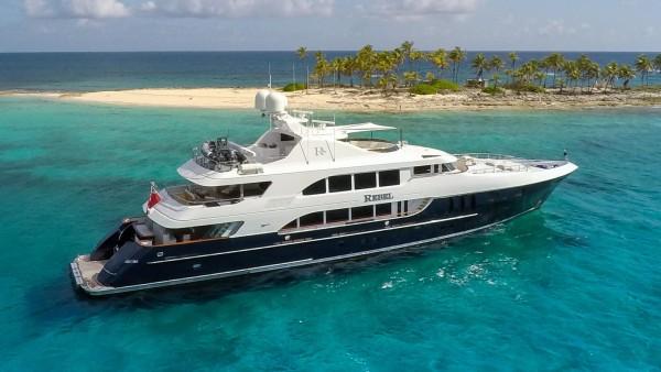 charter Rebel motor yacht