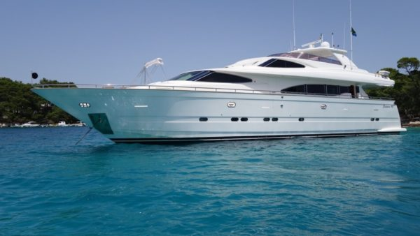 Yacht ladymarcelle Charter