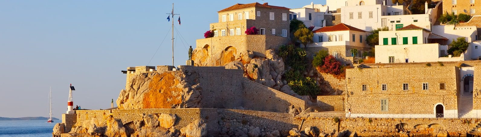 Best islands in Greece with a yacht charter