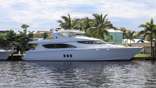 Ocean View Hatteras Yacht for sale