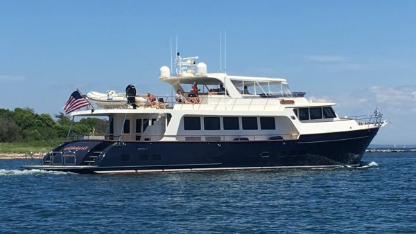 Drinkability Marlow 88e yacht sale by IYC