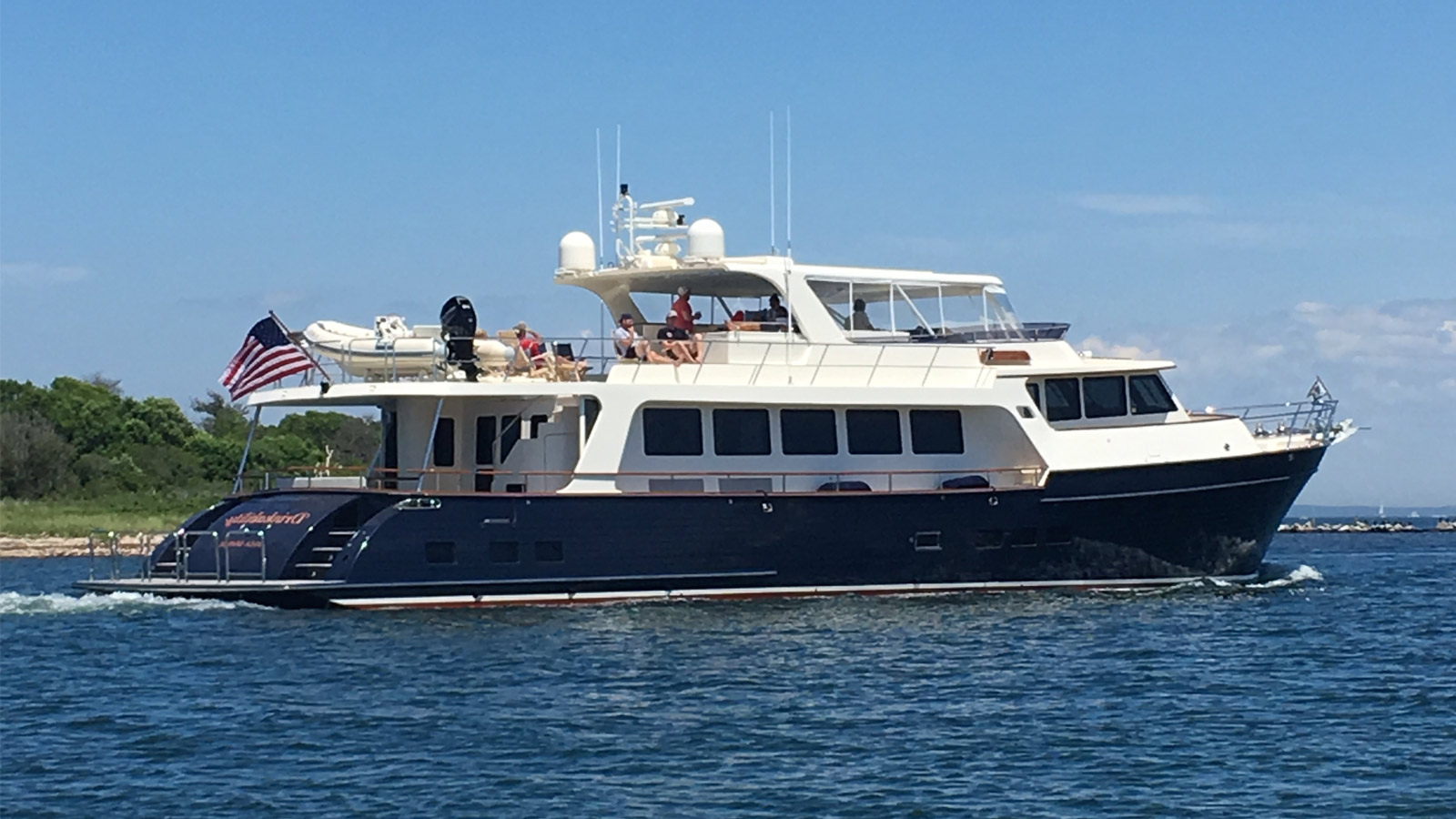 Drinkability Marlow 88e yacht profile for sale IYC