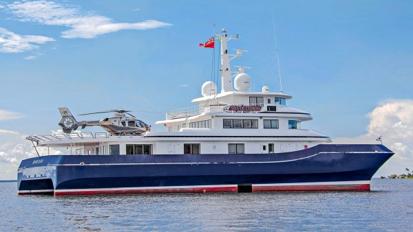 Silver Cloud SWATH Yacht for Sale