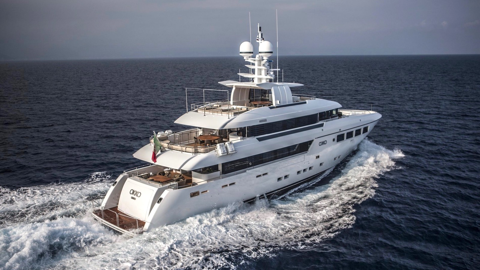 IYC is pleased to announce the sale of 134'/ 41m M/Y OKKO
